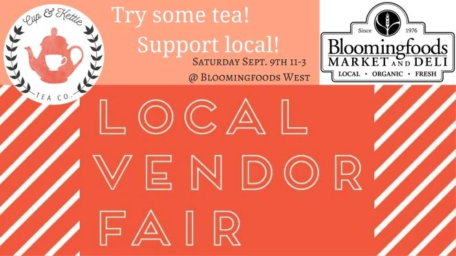 Bloomingfoods Local Vendor Fair